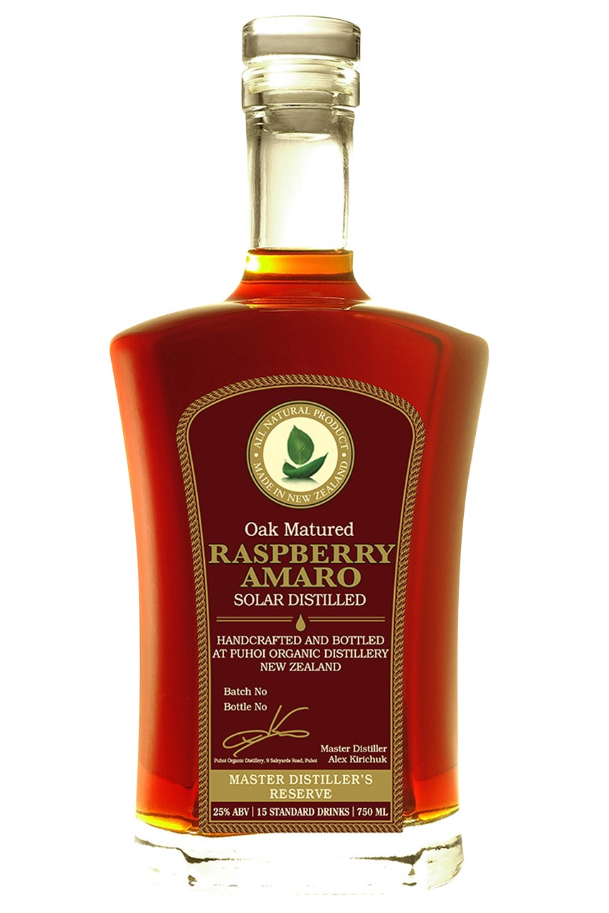Oak Matured Raspberry Amaro