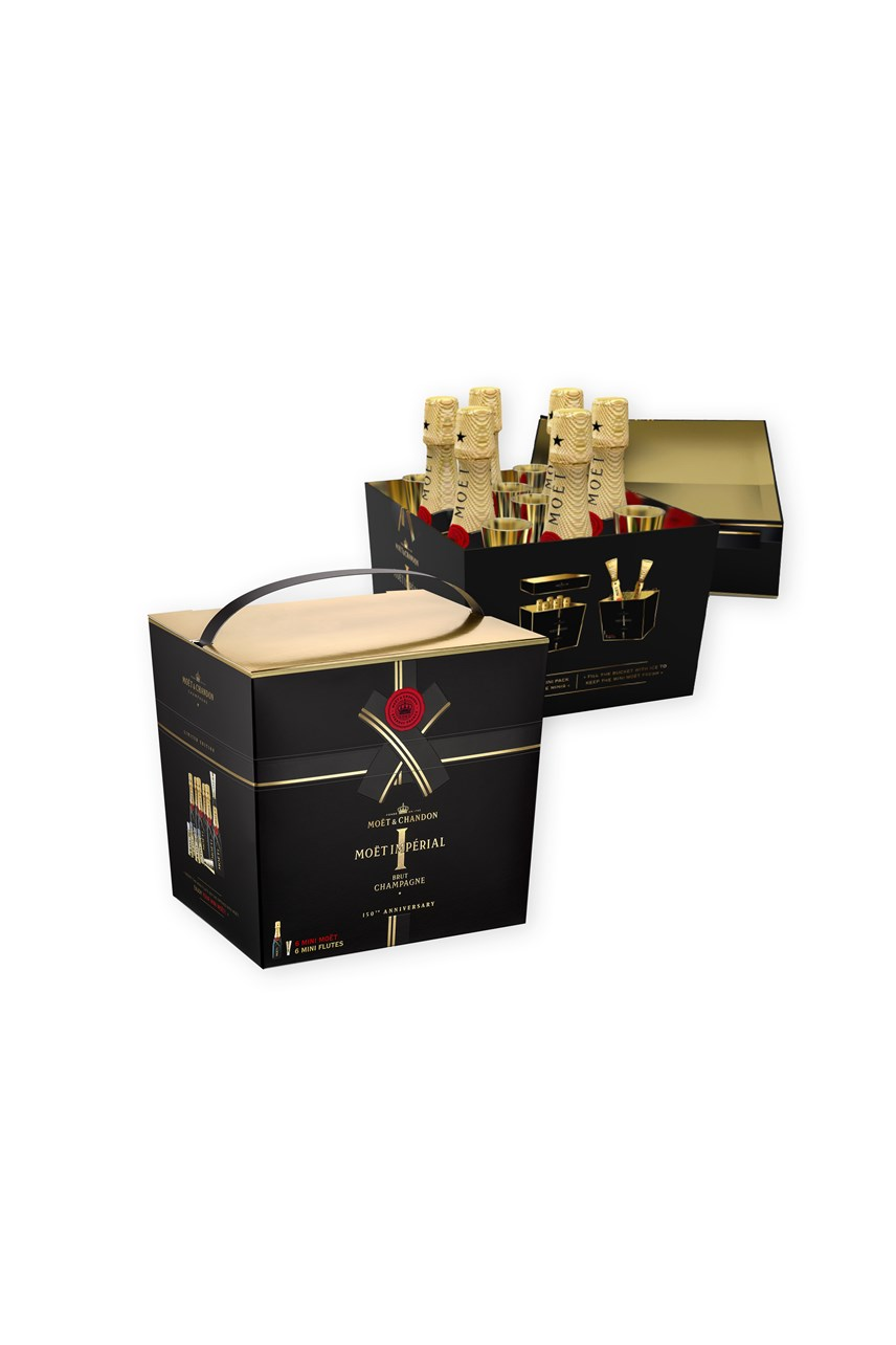 Moët & Chandon Mini Imperial 150th Anniversary 6 Pack