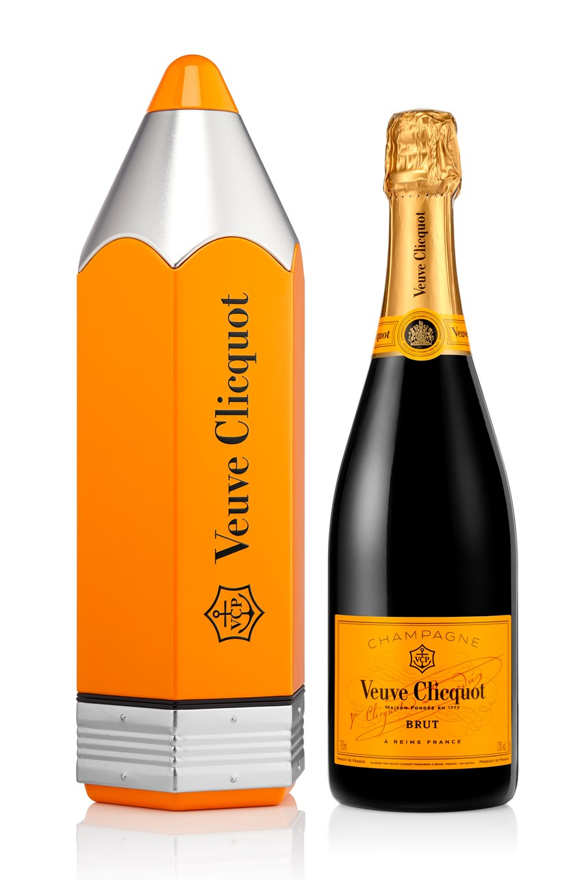 Veuve Clicquot Pencil Yellow Label