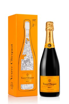 Veuve Clicquot Yellow Label Colouring Pack 1