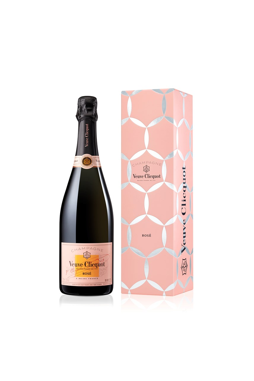 Veuve Clicquot Rose Comet Tin