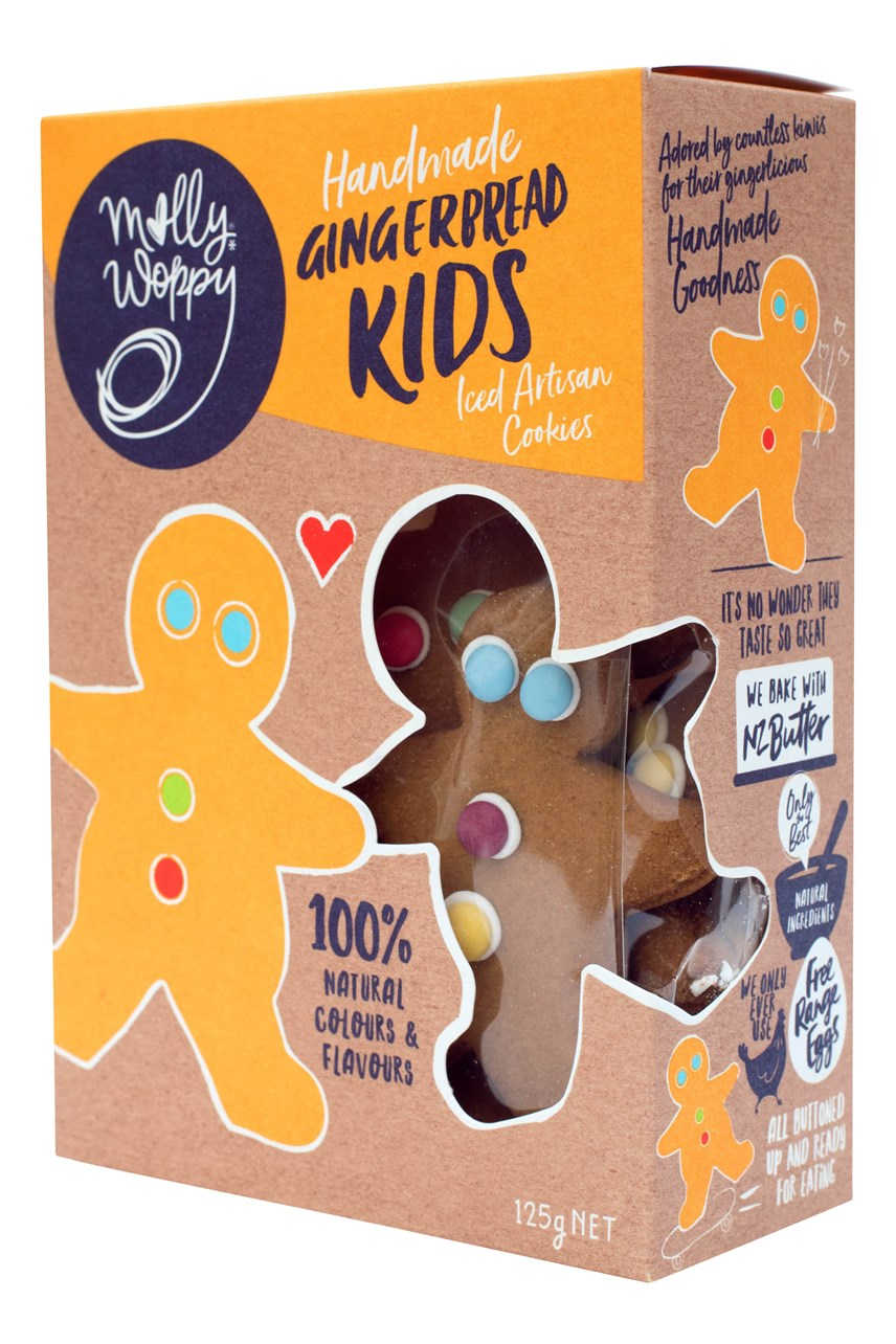 Handmade Gingerbread Kids