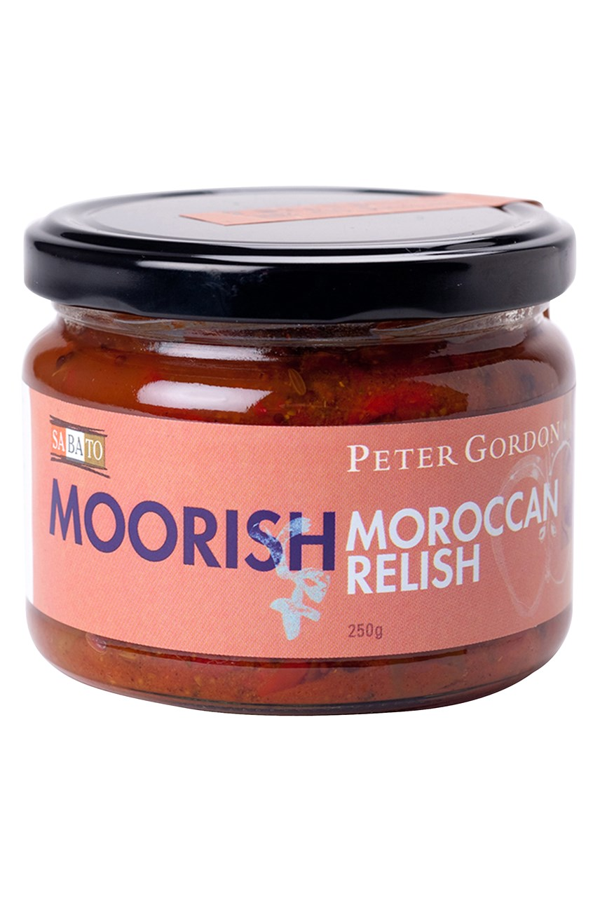 Peter Gordon Moorish Moroccan Relish