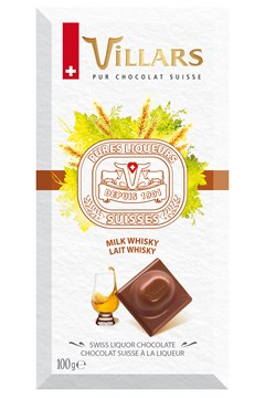 Swiss Milk Chocolate Bar Filled With Whisky 1