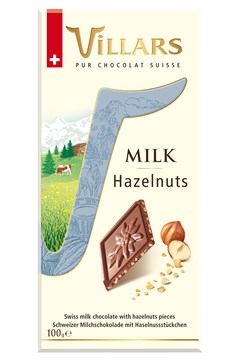 Swiss Milk Chocolate Bar With Hazelnuts 1