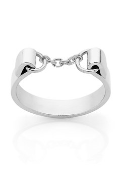 'Chain' Ring SILVER 1