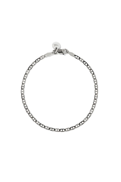 Anchor Chain Bracelet - sterling silver