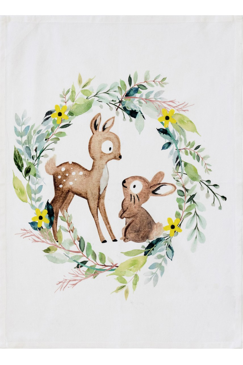 Easter Friends Tea Towel