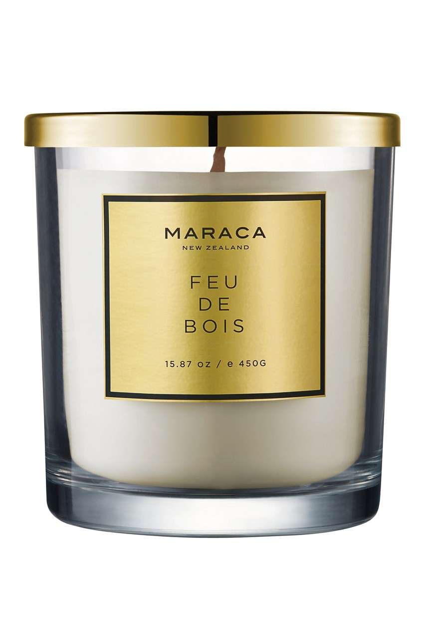 Feu De Bois Luxury Scented Candle - 450g