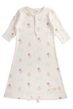 Cotton Sleeping Gown NATURE BABY PRINT 1