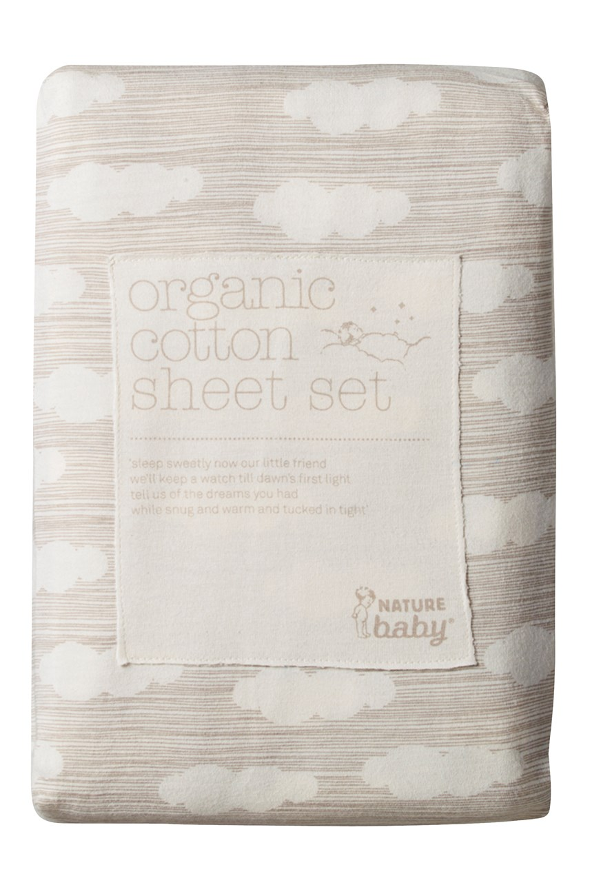 Organic Cotton Sheet Set - Bassinet