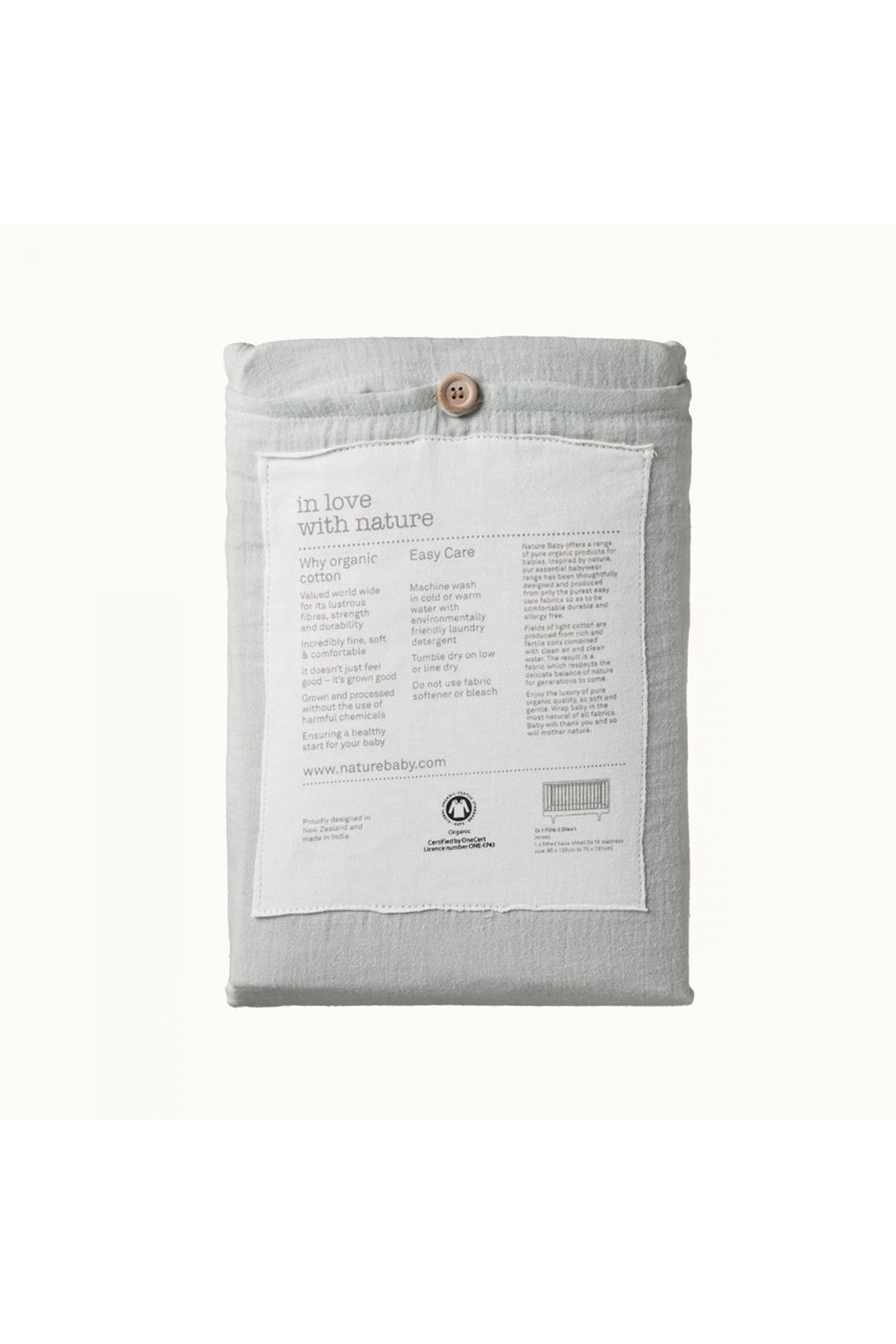 Organic Muslin Fitted Sheet