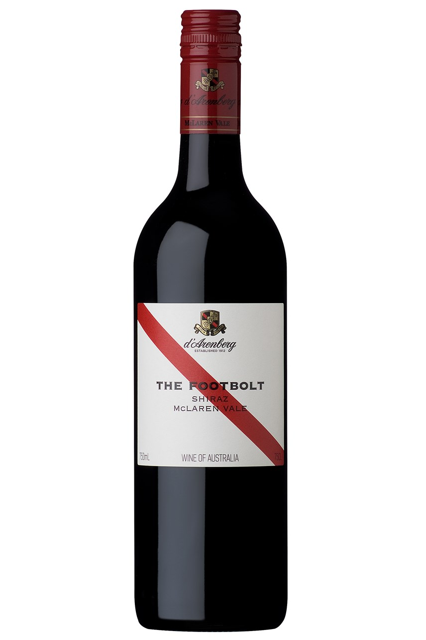 d'Arenberg The Footbolt Shiraz 2016
