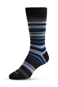 Merino Allstripes Sock 820 SPORTY BLUE 1