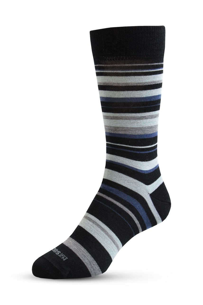Merino Allstripes Sock