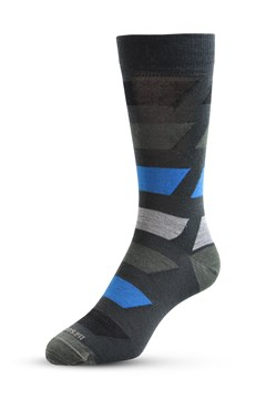 Bolted Colour Sock 319 ANTHRACITE 1