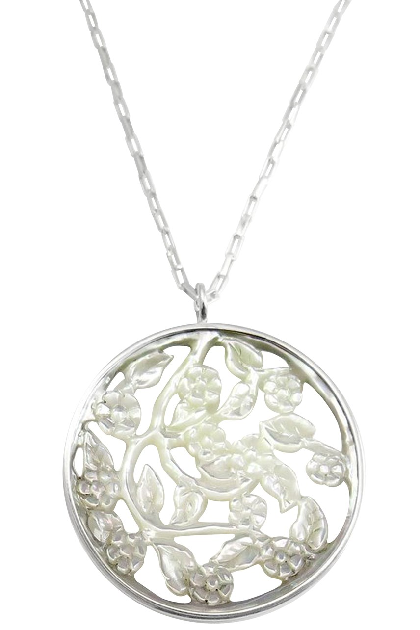 Mother Of Pearl Blossom Pendant