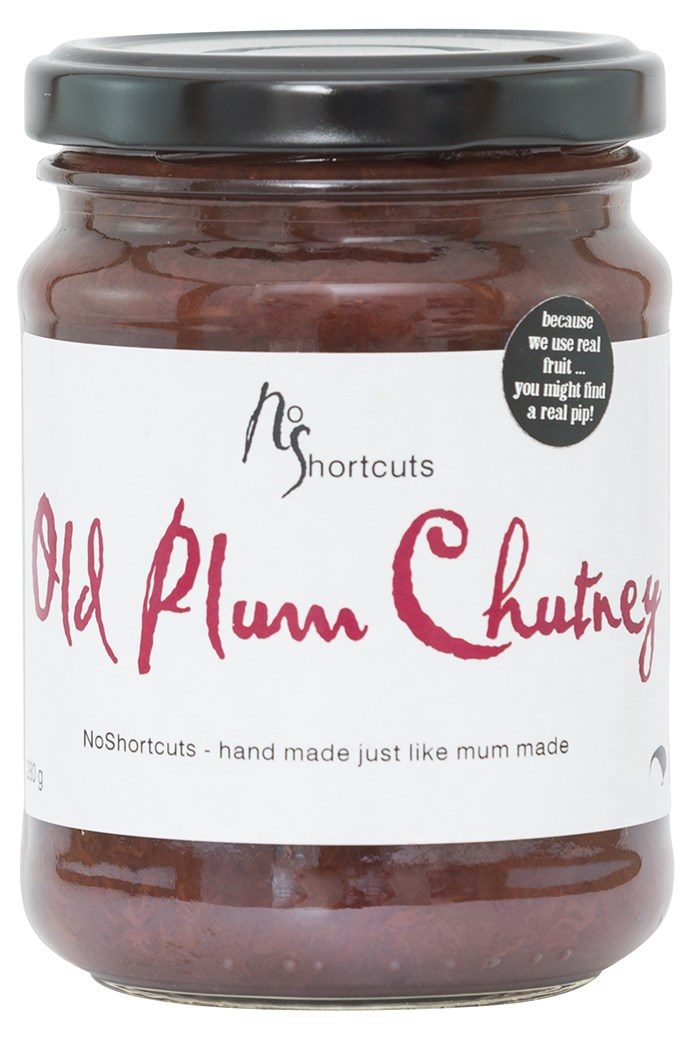 Old Fashioned Plum Chutney