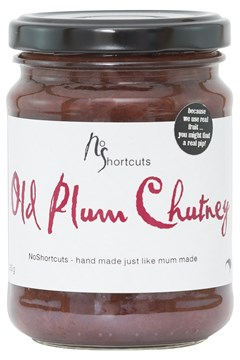 Old Fashioned Plum Chutney -
