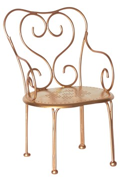 Gold Vintage Chair 1
