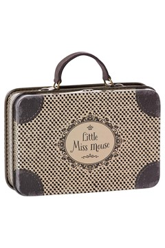 Little Miss Mouse Metal Travel Suitcase 1