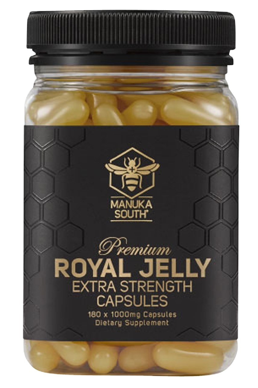 Extra Strength Royal Jelly - 365 Capsules