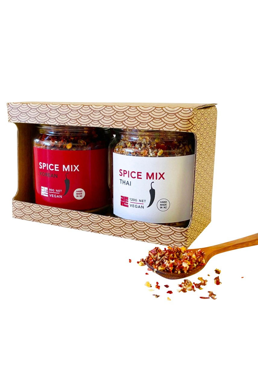 Thai + Korean Spice Set