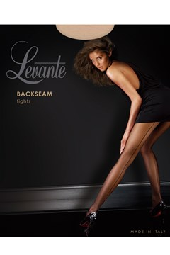Backseam Tights Nero 1