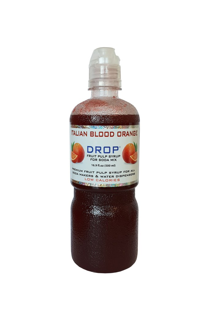 Drop Italian Blood Orange Soda Syrup - 500mL