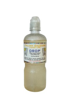 Drop Italian Lemon Lime Soda Syrup - 500mL LEMON & LIME 1