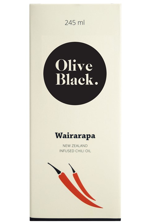 Olive Black Chilli Oil -
