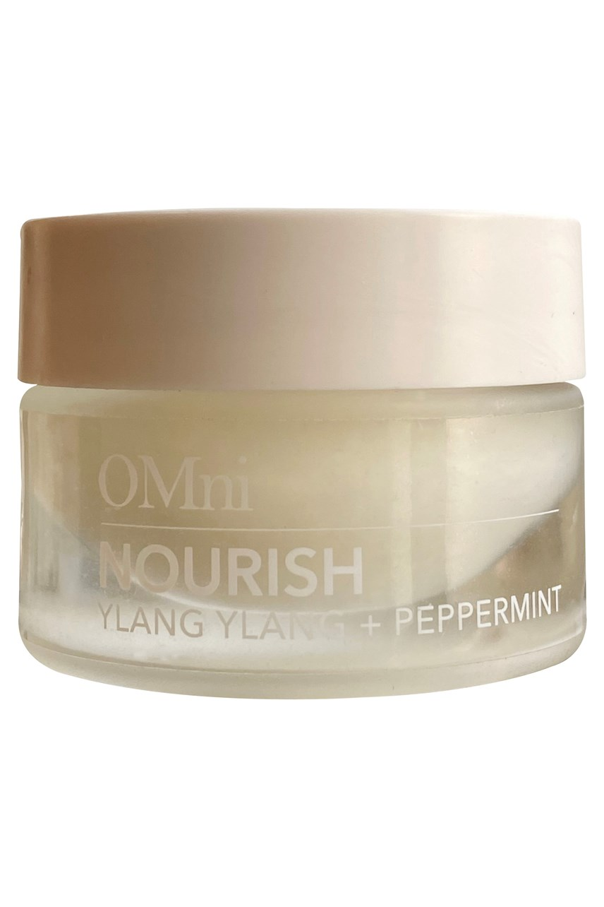 Nourish, 100% natural multi-use lip balm - ylang ylang and peppermint