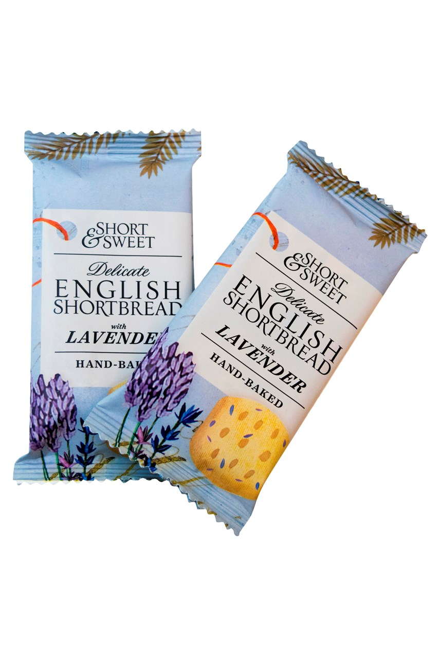Short & Sweet English Shortbread With Lavender