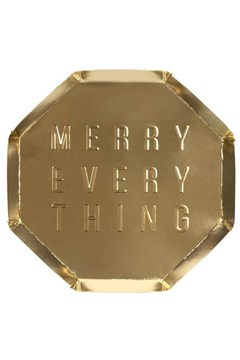Merry Everything Side Plate - Small 1