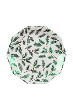 Festive Leaves & Berries Plates - Small 1