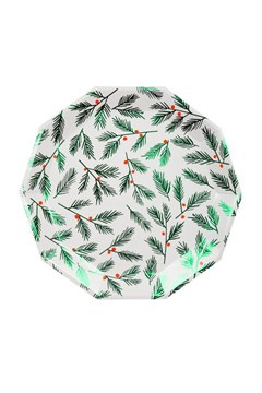 Festive Leaves & Berries Plates - Large 1