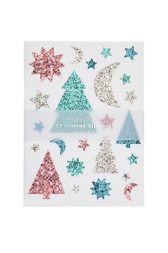 Glitter Festive Icons Sticker Sheet 1