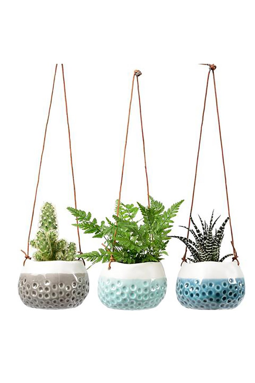 Baby Dotty Hanging Pots - Set of 3