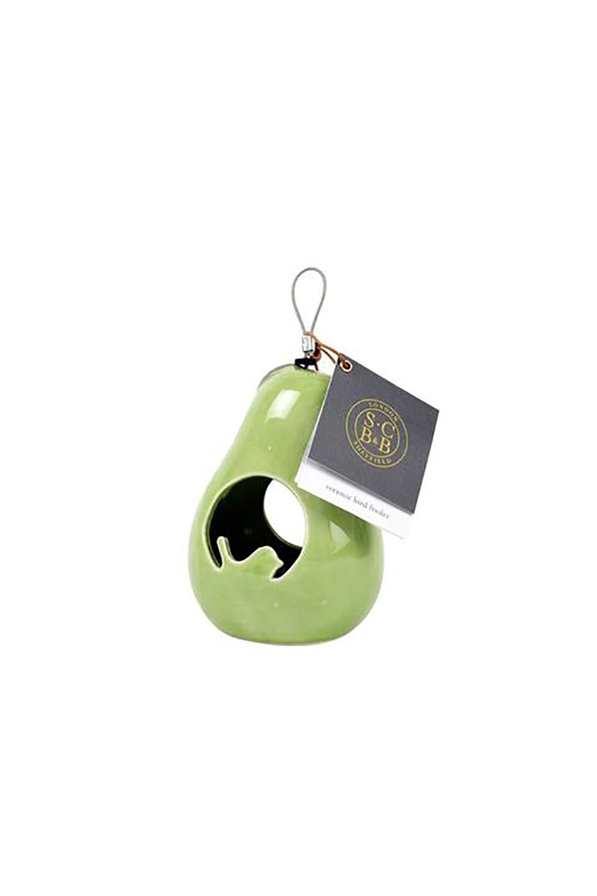 Sophie Conran Ceramic Bird Feeder - Pear