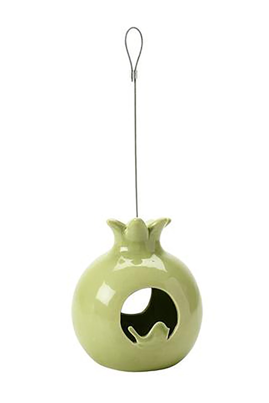 Sophie Conran Ceramic Bird Feeder - Pomegranate