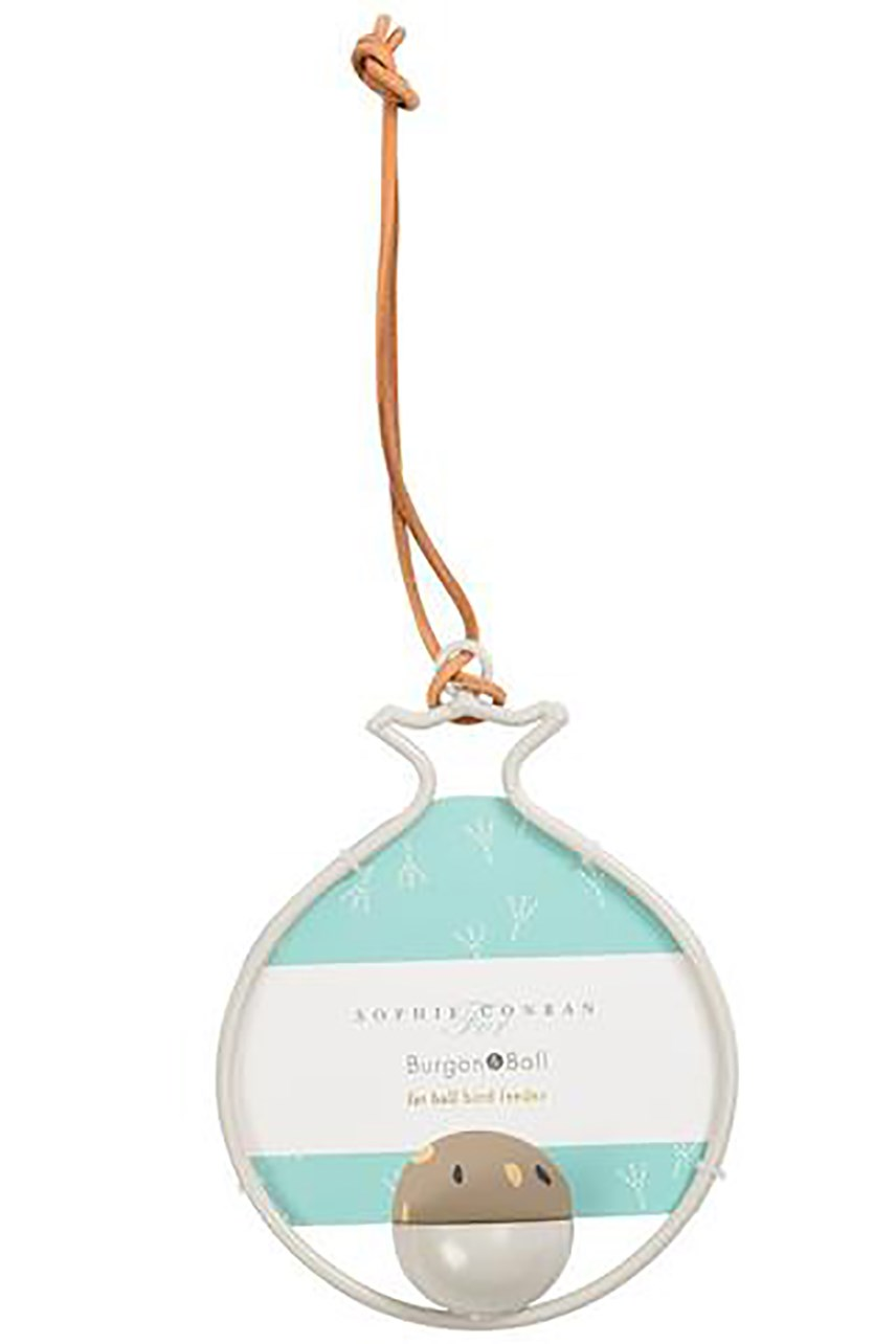 Sophie Conran Fat Ball Bird Feeder - Pomegranate