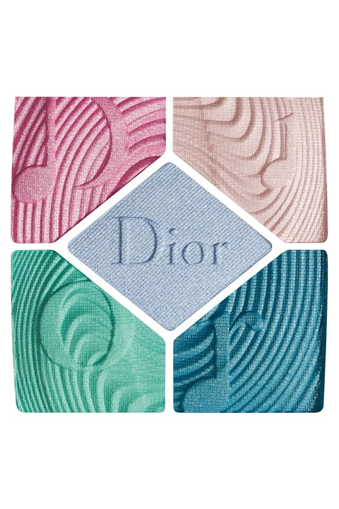 DIOR | Diorshow | 5 Couleurs Glow Vibes - Limited Edition High Fidelity Couture Colours & Effects Eyeshadow Palette - 327 blue beat