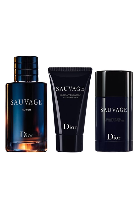 Dior | Sauvage | Sauvage  Fragrance Set - Parfum, After-Shave Balm, Deodorant -