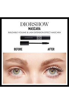 DIOR | Diorshow | Diorshow Lash extension effect volume mascara - black