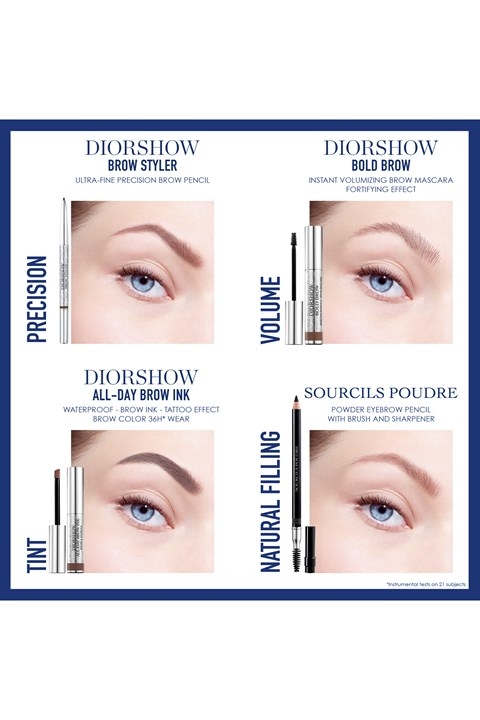 DIOR | Diorshow | Diorshow Brow Styler Ultra-fine precision brow pencil - 002 dark brown