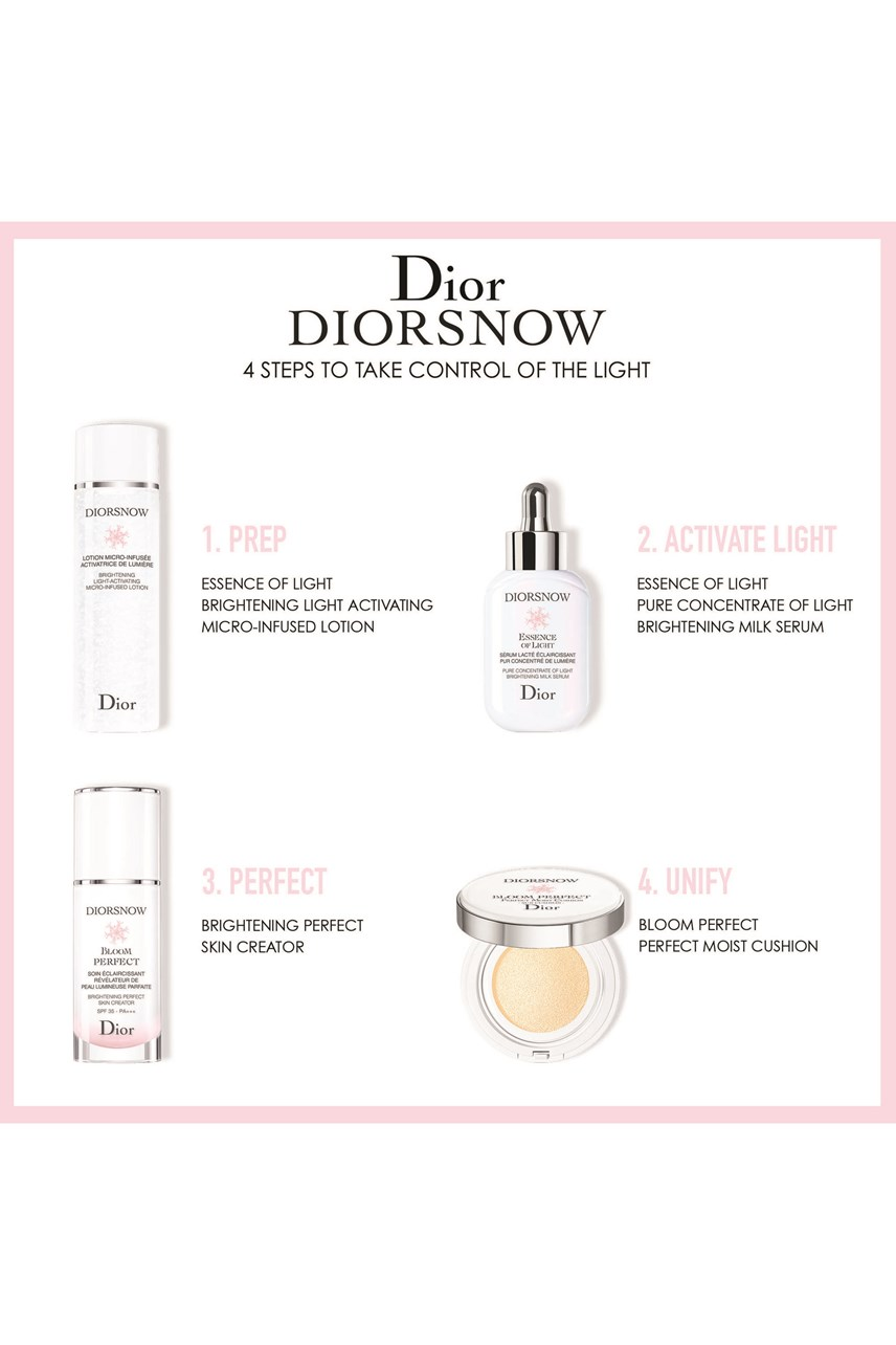 DIOR | Diorsnow  | Diorsnow Brightening light-activating micro infused lotion