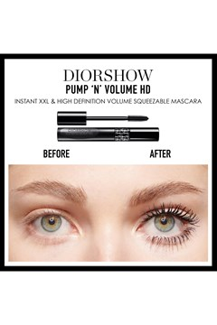 DIOR | Diorshow | Diorshow Pump 'n' Volume Waterproof Volumizing mascara - 090 black pump