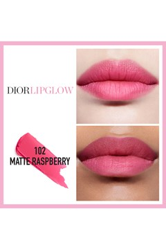 DIOR | Dior Addict | Dior Lip Glow Hydrating color reviver lip balm - 102 matte raspberry