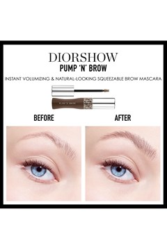 DIOR | Diorshow | Diorshow Pump 'N' Brow Instant Volumizing - Natural-looking - Squeezable Brow Mascara - Fortifying Effect - 011 blonde