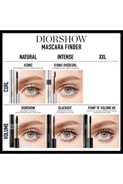 DIOR | Diorshow | Diorshow Pump 'N' Volume HD Squeezable Mascara Instant XXL Volume - Lash-Multiplying Effect - 090 black pump